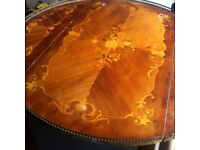 Italian Inlaid Marquetry Table Top Only for a Project
