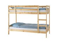 Like new Bunk bed +2 new mattress