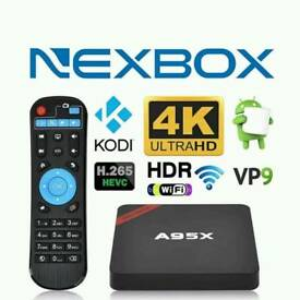 NEXBOX ANDROID TV. LATEST AND NEW DESIGN