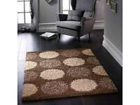 Delta choclate rug