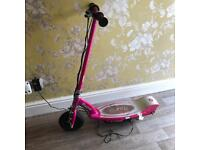 Electric scooter Pink