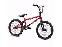 Mongoose Legion L20 Red BMX Bike with manufacturer warranty