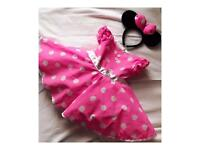 Custom made children's dresses (Minnie Mouse inspired)