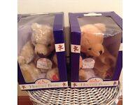 Hamleys Bears - William and Henry - £10 each