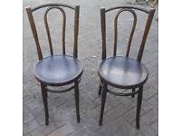 Pr matching Bentwood Chairs