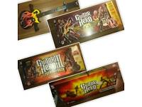 Ps3 Guitar hero world tour band, Arosmith, guitar hero lll, with accessories