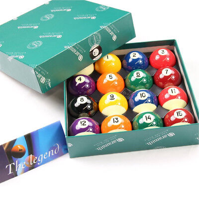 New Aramith Prime minister Belgian Pool Balls Set Free Shipping & Free Rule Booklet