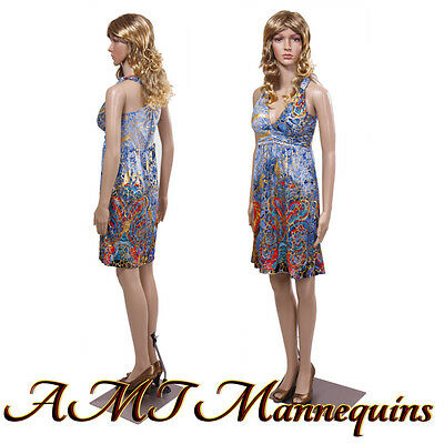 Female Mannequin Displays Ladies Dress Full Body Mannequin-mona102wigs