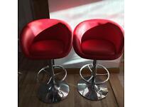 Pair of John Lewis breakfast bar stools