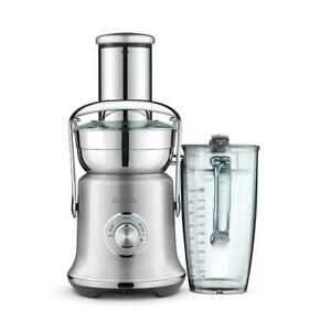 Breville Juice Fountain Cold XL Juicer BJE830SIL, Silver Pearl