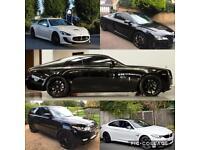Rolls Royce Wraith Maserati Audi R8 Range Rover BMW M4 Luxury car hire/wedding/chauffer 21+