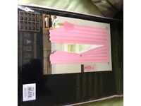 Baby pink curtains new 47x54 pink silk curtains new 47x54