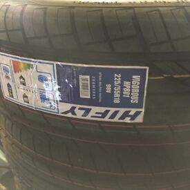 Pair of Brand New Tyres 225/55R18