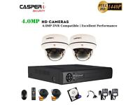 CCTV 8CH DVR Full HD 4MP 1440P Camera 30M Night Vision Home/Shop Security System with 1TB HDD