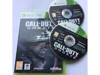 Secondhand Xbox360 call of duty ghosts