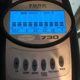 York barbell cross trainer X730