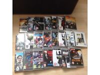PS3 games, guitar hero and sing star