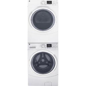 Combo laveuse/sécheuse empilable, couleur Blanc