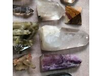 Special Collection of Selected Crystals for Gridwork Healings Sessions Therapies