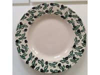 Emma Bridgewater rare Blackberry dinner plate, perfect condition