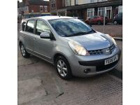 2006/06 NISSAN NOTE 1.4 SE ONE PREVIOUS OWNER FROM NEW IMMACULATE CONDITION