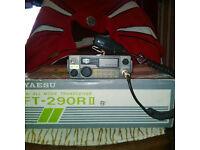 Yaesu FT290 MK II Plus a 100 watt Linear