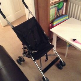 Lightweight compact pushchair, ideal for holidays