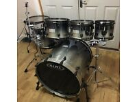 Refurbished Mapex Saturn Drum Kit (6 Piece) // Free Local Delivery