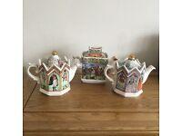 Sadler Collectible Teapots