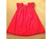 Embroidered dress age 2-3