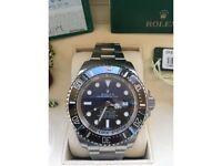 Rolex James Cameron Sea-Dweller DEEPSEA D-Blue Dial 116660 NEW & UNWORN