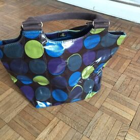 Boden spotty handbag, excellent condition, nearly new