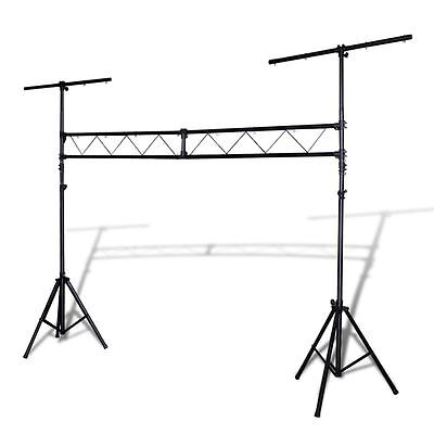 Portable DJ Lighting Truss Stand w/T-Bar Trussing Stage System 265 lb Max. Steel