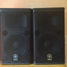 Yamaha 1300Watt Active PA Speakers DSR112