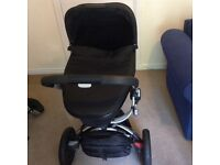 QUINNY BUZZ 3 with MOODD CARRYCOT AND MAXICOSI CAR SEAT