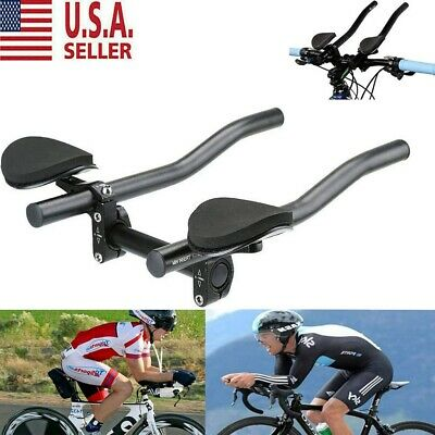 Vision Alloy R-Bend Aero Bar Extensions 22.2 x 360mm TT Triathlon Bike Di2 Road