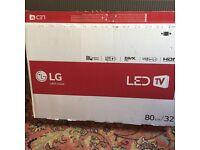 BNIB 32 inch lg led tv for sale