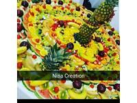Fruit Displays, Candy Cart /Sweets Display, Asian Weddings, Pani Puri Stand, Chaat Henna, Mehndi