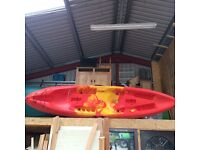 Ocean Malibu Two - two person sit on top canoe. Very good condition - great fun! 14ft approx