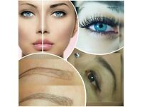 Microblading Eyebrows, Semi Permanent Make up,Eyelash extension Natural or Glamour looking