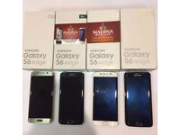 SAMSUNG GALAXY S6 EDGE UNLOCKED MINT CONDITION COMES WITH WARRANTY & SHOP RECEIPT