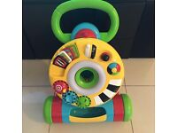 Elc baby walker with lights and sound. V good condition. £15