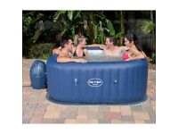 Stunning Lay Z Spa Hawaii Air Jet 6 Person Hot Tub Spa for Home/Garden like St Moritz Free Delivery