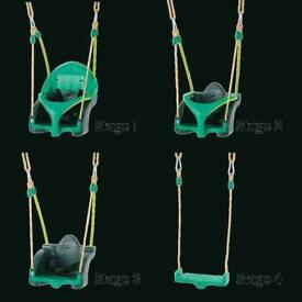 PT Quadpod 3 in 1 age adjustable indoor / outdoor swing