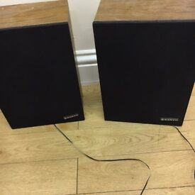 Pair of Sanyo speakers