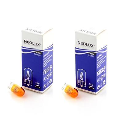 NEOLUX Osram 12 Voltio 5 Vatios W5W T10 Cuña Ámbar Recambio N501A...