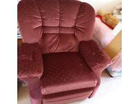 Manyal reclining chair