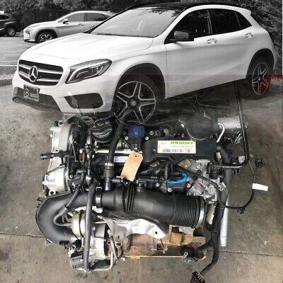 ✅ Motor 1.6 CGI 270.910 MERCEDES GLA CLA  A W176 2017 19TKM UNKOMPLETT