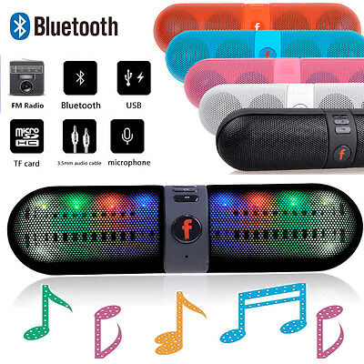 BLUETOOTH WIRELESS SPEAKER MINI PORTABLE SUPER BASS FOR IPHONE SAMSUNG TABLET PC on Rummage
