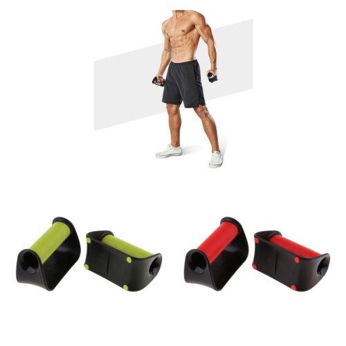 Push up Stands Handles Bars Home Gym Fitness Exercise Equipm